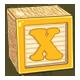 Toy Block X