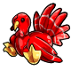Red Turkey Plushie