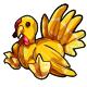 Yellow Turkey Plushie