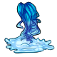 Water Fairy Wig