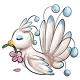 White Flower Osafo Plushie