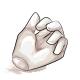 Coconut Gummy Hand