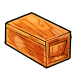 Orange Wooden Trap