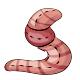 Giant Worm Plushie