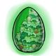 Christmas Tree Glowing Egg