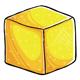 Yellow Sugar Cube