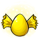 Yellow Candy Glowing Egg
